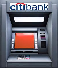 Банкоматы Ситибанка