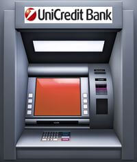 Банкоматы ЮниКредит Банка
