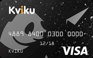 Виртуальная кредитная карта Квику (Kviku)