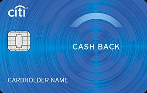 Кредитная карта CASH BACK Ситибанк