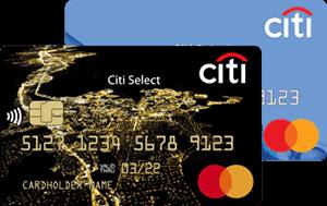 Кредитная карта Citi Select Ситибанк