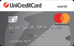 Кредитная карта ЮниКредит Банк Standard Mastercard