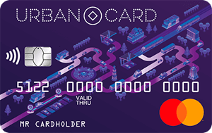 Кредитная карта Urban Card Кредит Европа Банк